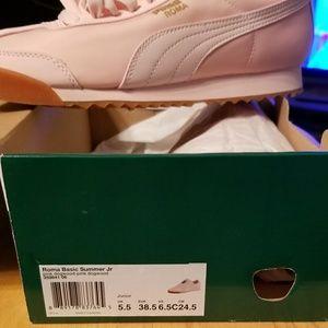 Puma Shoes - Puma Roma Basic Summer Jr. d38a6590e